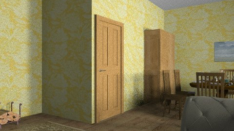 Downton Abbey  - Vintage - Living room - by Flora079