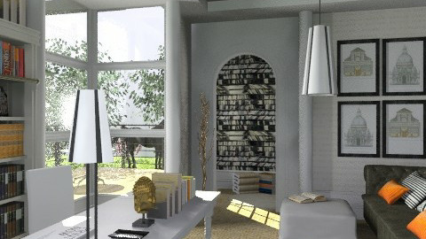Home office - Eclectic - Office - by du321