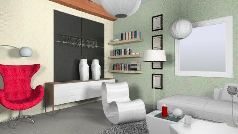 room - Minimal - Living room - by natasas