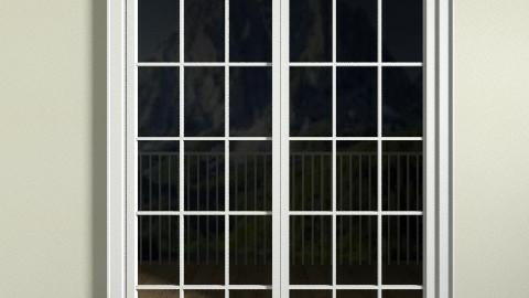Balcony - Retro - Garden - by jazzmineherzig