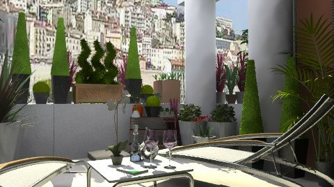 SIESTE MARSEILLAISE - Eclectic - Garden - by calu13