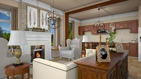 edx - Living room - by iraa
