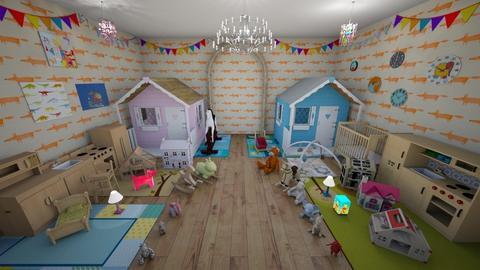 toys exhibition  - Kids room - by Evgeniya Levchenko