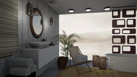 Nautical Bathroom - by tiffanysblues