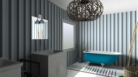 Positano bathroom - Retro - Bathroom - by ValeGra