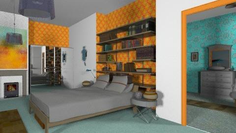 En suite - Eclectic - Bedroom - by mrschicken