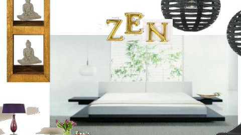 Zen Space - Minimal - Bedroom - by rjackson