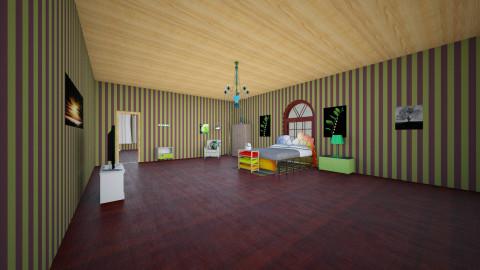 Boys room  - Bedroom - by TaliaP
