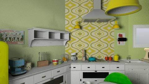 kik - Vintage - Kitchen - by carlita