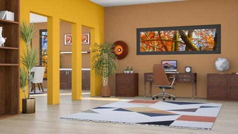Autumn Office - Eclectic - Office - by millerfam