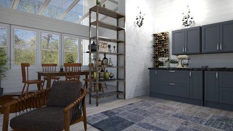 scandinavian kitchen - Kitchen - by BortikZemec