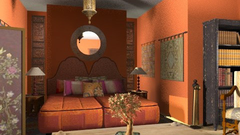 orange old - Eclectic - Bedroom - by chania
