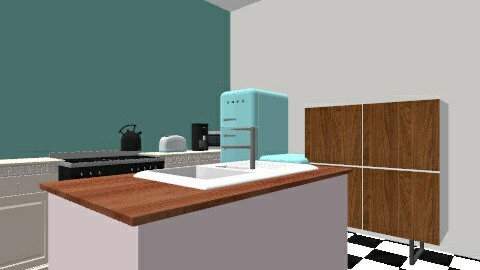 Kitchen - Vintage - Kitchen - by Sierra Sebastian