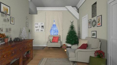Christmas Corridor - by fenwayb