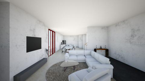 pavilion living room - Living room - by delfigoh