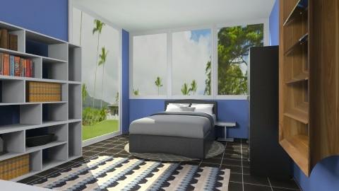 Boy Bedroom - Modern - Bedroom - by Jacquie Ru