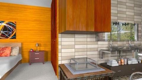 Open Fireplace - Modern - Bathroom - by Bibiche
