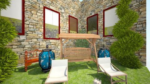 relax garden - Vintage - Garden - by Boka i Deki
