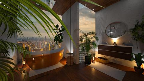 Urban Jungle Bathroom - Bathroom - by Shadowfax111