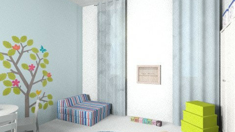 oranit play room 2 - Eclectic - Kids room - by adigallay