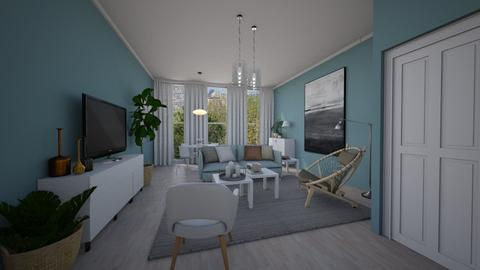Template Scandinavian - Living room - by Tuitsi