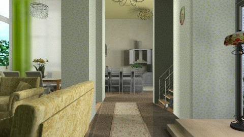 mom house - Minimal - Living room - by oliricescarraman