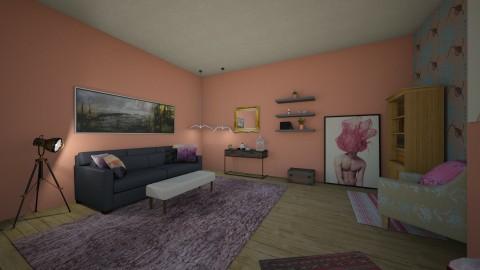 Vintage Me - Vintage - Living room - by deleted_1519083446_GHinteriordesign