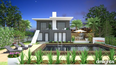 beach home - Garden - by rrogers45