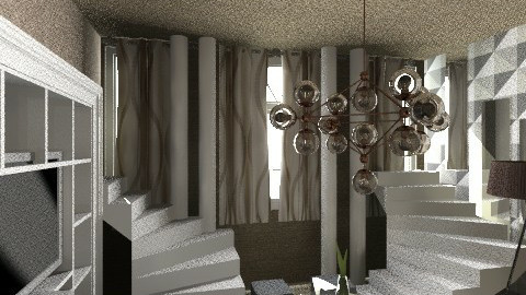 Escher interior - Living room - by nesta