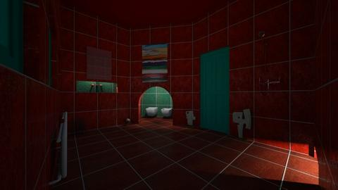 bathroom - by Berecz Viktor