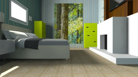 Future bedroom - Bedroom - by Mitchell Silkman
