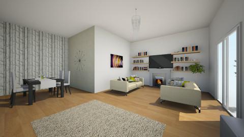 Living/Dining room - Living room - by imstephaniee_