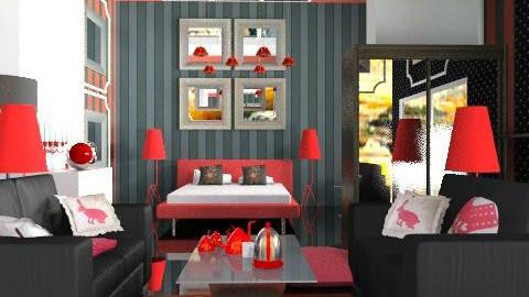 Bedroom B&R - Eclectic - Bedroom - by calu13