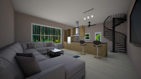 kitchin - Living room - by dawson3695
