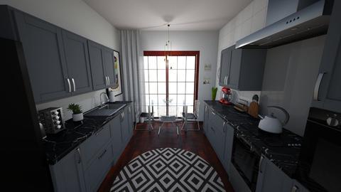 hella kitchen - Kitchen - by cupofhappy