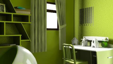 boys III - Minimal - Kids room - by LelaMarie Bullock