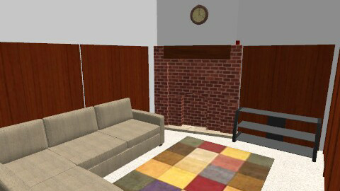 family room - Country - by Jae Ching