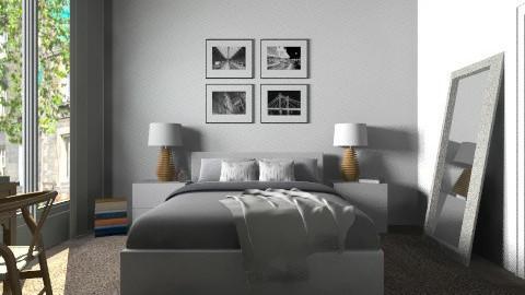 Bdr - Modern - Bedroom - by Tuija