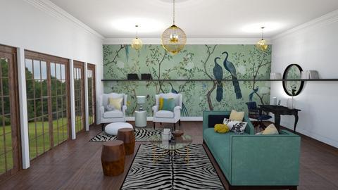 Color Sofa - Classic - Living room - by QuianaRose