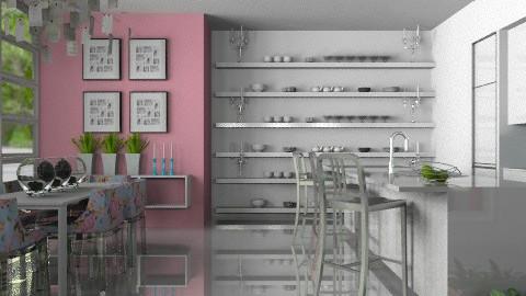 Frosted Bubblegum - Modern - Kitchen - by Carliam