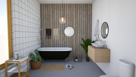 peace place - Minimal - Bathroom - by high_hopes