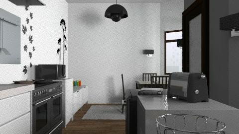 mynewkitchenxd - Modern - Kitchen - by enikovas
