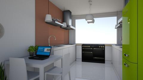 Gelijkvloers Plan B 7 - Kitchen - by pixie_16