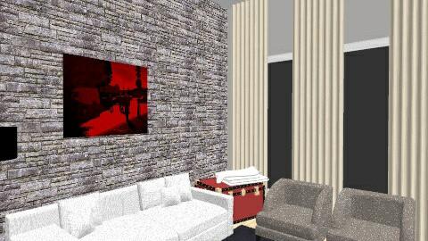 sala - Living room - by Fernanda Balbuena