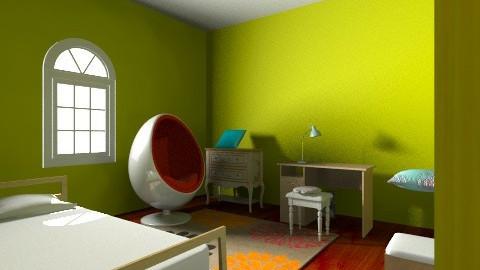 My Dream Bedroom - Modern - Bedroom - by owllover816