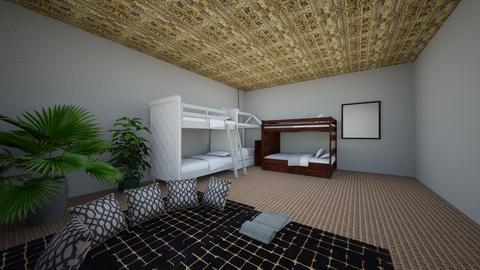 AstroSpeed Hotel kidsroom - Kids room - by Jimjam80