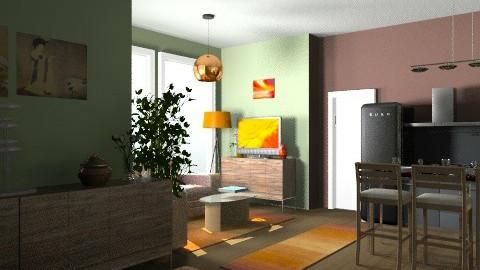A small apartman  - Modern - by Sziszi