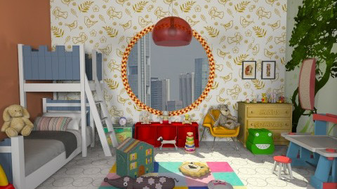 dream study plaaayy - Modern - Kids room - by Veny Mully