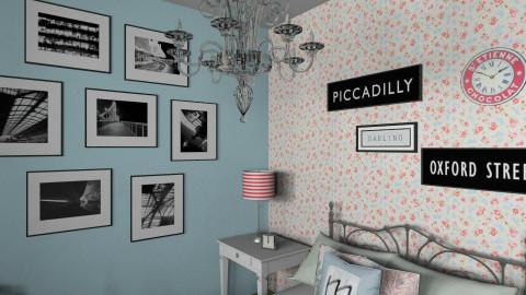 Blue Bedroom_CWIN - Vintage - Bedroom - by TV Renders