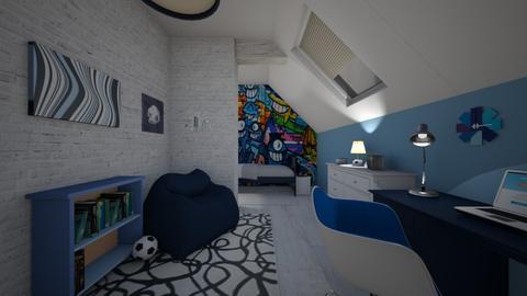 Teen loft - Bedroom - by CCPompey